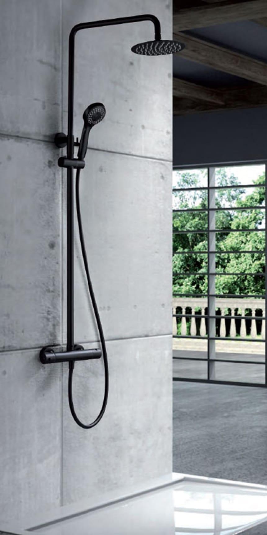 LONDON SERIES THERMOSTATIC SHOWER BAR BTL011 / NG