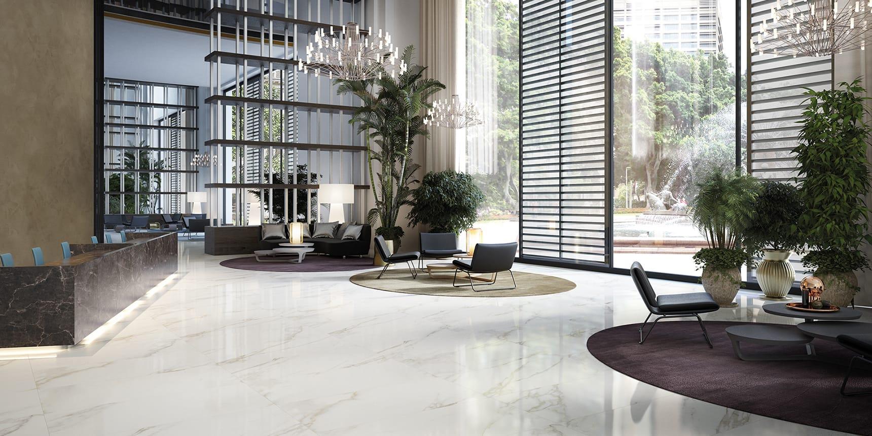 floor Marble Boutique Statuario White