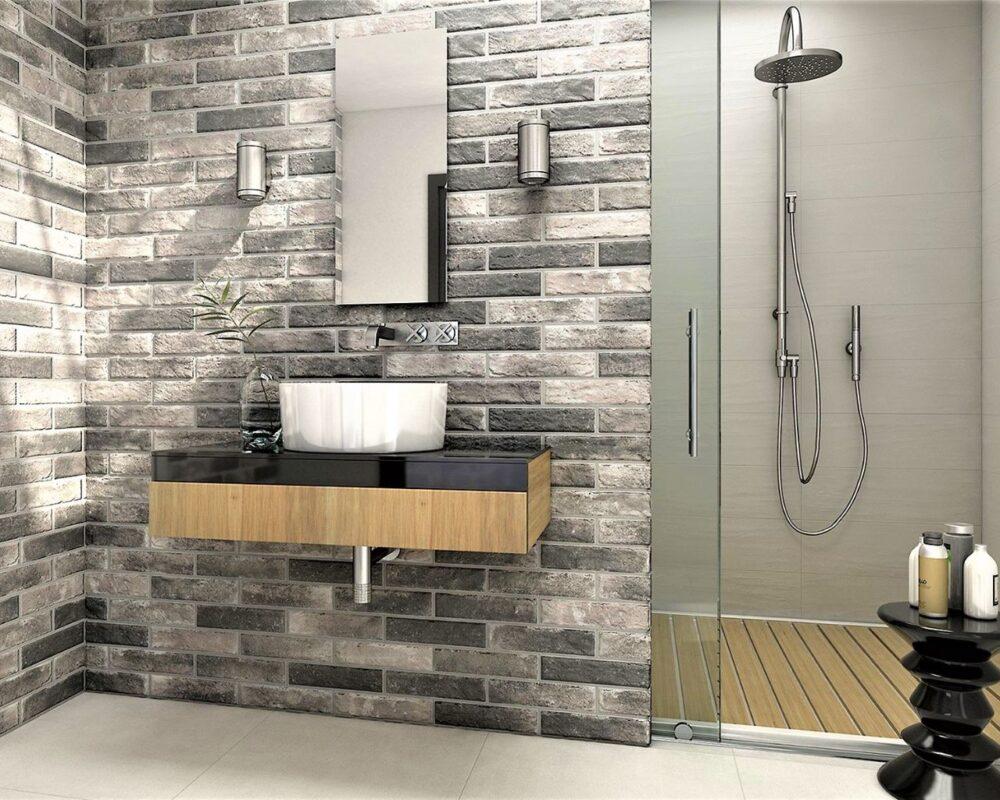 brick stone grey