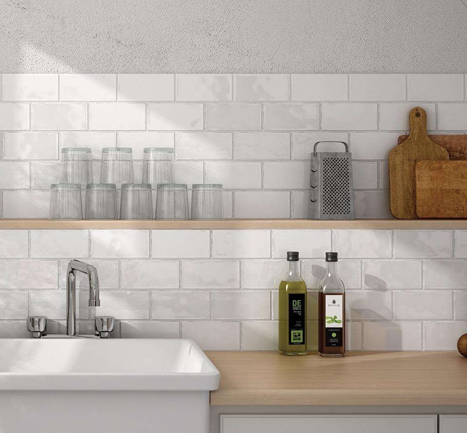 Atelier White Glossy 7,5x15-0